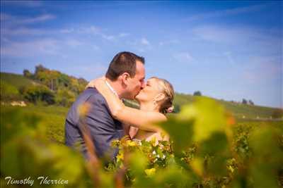 photo numérisée par le photographe Timothy à Troyes : photographie de mariage