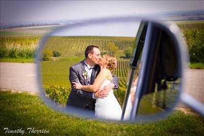Exemple de shooting photo par Timothy à Troyes : shooting mariage