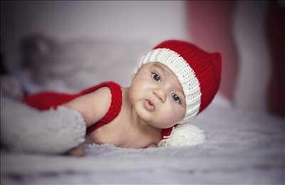 Shooting photo effectué par le photographe Cynthia à Metz : photographie de nouveau né