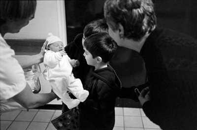 photo numérisée par le photographe Manuelle à Paris 15ème : shooting pour une naissance