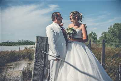 Shooting photo effectué par le photographe Isabelle à Le grau-du-roi : photo de mariage