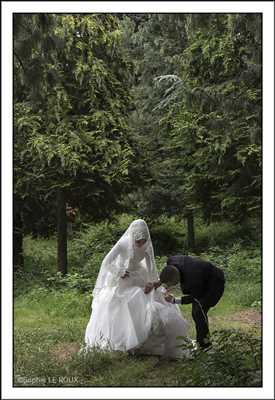 Shooting photo à Villejuif dont l'auteur est : Sophie : photo de mariage