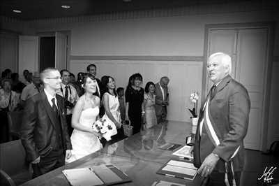 photo numérisée par le photographe SGRO à Cagnes sur mer : photo de mariage