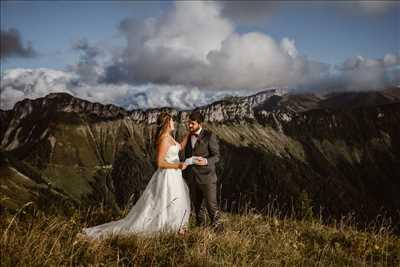 photo prise par le photographe Malin  à Chamonix-mont-blanc : photographe mariage à Chamonix-mont-blanc
