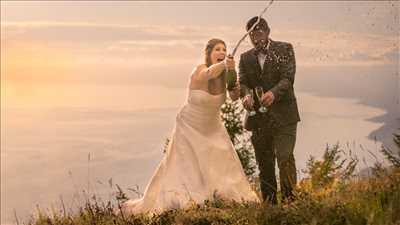 cliché proposé par Malin  à Chamonix-mont-blanc : photographie de mariage