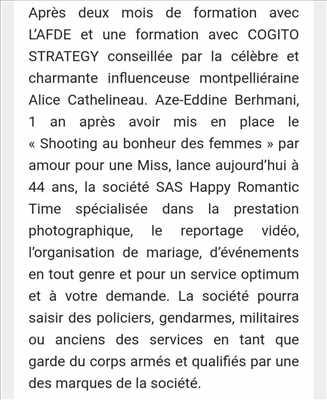 cliché proposé par Aze-Eddine (Amour) à Toulouse : shooting mariage
