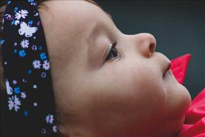 photo prise par le photographe Ségolène à La rochelle : photographie de nouveau né