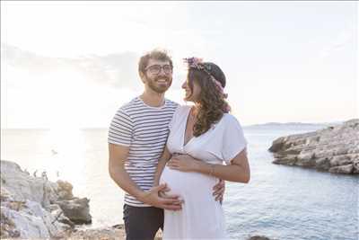 cliché proposé par Jeremy à Marseille : photographie de grossesse