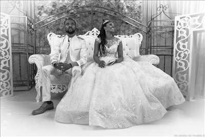 photo numérisée par le photographe Olivier à Sainte-geneviève-des-bois : photo de mariage