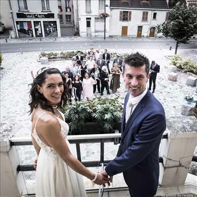 Shooting photo effectué par le photographe Olivier à Sainte-geneviève-des-bois : shooting mariage