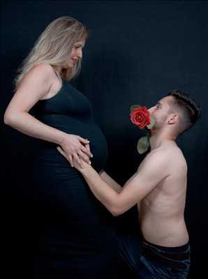 Exemple de shooting photo par Anatole Steven à Toulouse : photo de grossesse