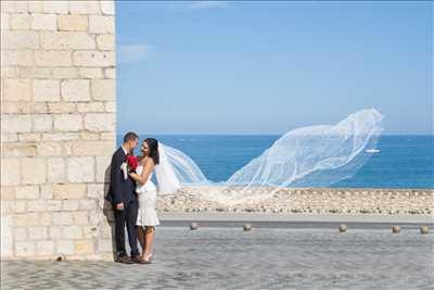 photo prise par le photographe eric à Cannes : photographie de mariage