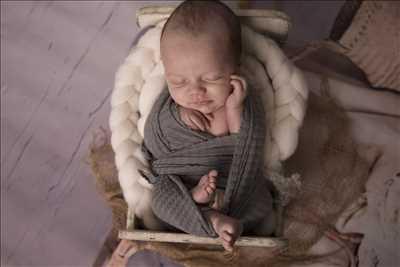 Shooting photo effectué par le photographe Agnes à Capbreton : photo de naissance