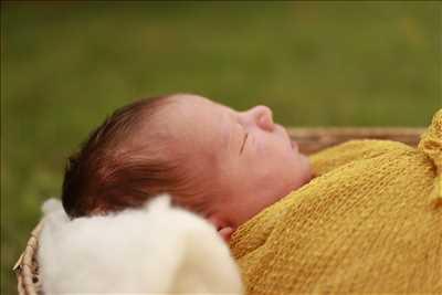 photo prise par le photographe Agnes à Capbreton : photographe pour bébé à Capbreton