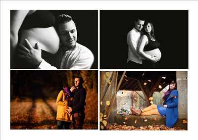 photo prise par le photographe Richard à Rennes : shooting grossesse