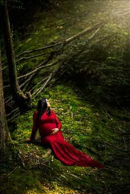 Shooting photo réalisé par Nico intervenant à Lens : photographie de grossesse