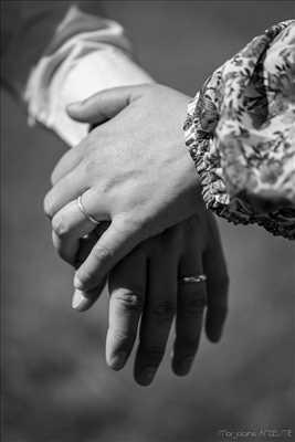 photo numérisée par le photographe Marjolaine à Yssingeaux : shooting mariage