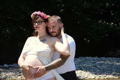 photo numérisée par le photographe Marilyne  à Orange : shooting photo spécial grossesse à Orange