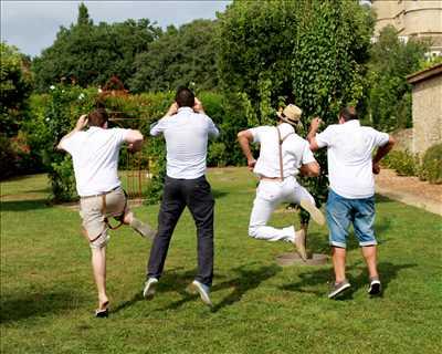 cliché proposé par Jeanine studio à Béziers : photo de mariage