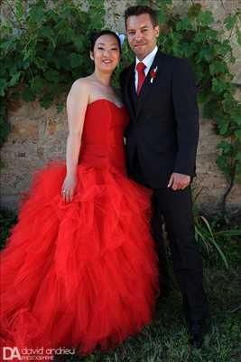 photo prise par le photographe David à Nîmes : photographie de mariage