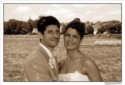 cliché proposé par David à Nîmes : shooting mariage