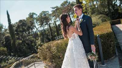 Shooting photo réalisé par Vincent intervenant à Montpellier : photo de mariage