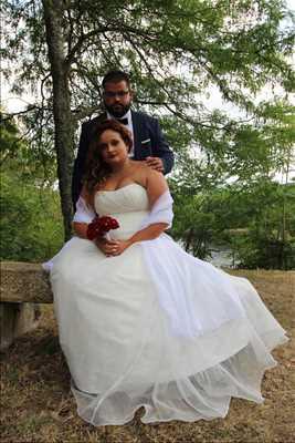 photo numérisée par le photographe Fanny à Bordeaux : photo de mariage