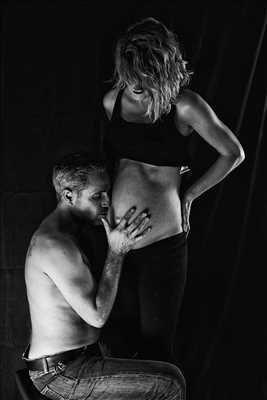 Shooting photo réalisé par Stéphane intervenant à Rennes : photo de grossesse