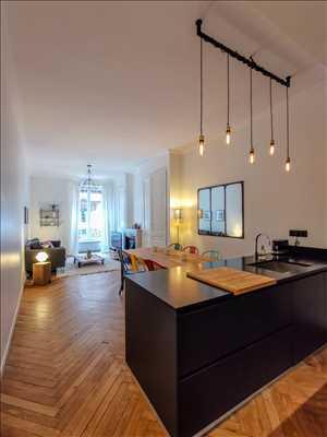 Exemple de shooting photo par claire à Lyon : photo de bien immobilier