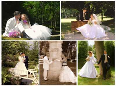 Exemple de shooting photo par Freddy à Evry : shooting photo spécial mariage à Evry