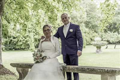 Shooting photo effectué par le photographe Alain à Valence : photo de mariage