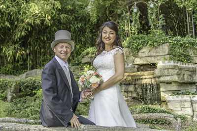 Shooting photo effectué par le photographe Alain à Valence : photographie de mariage