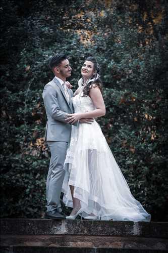 photo numérisée par le photographe Severine à Alès : photographie de mariage