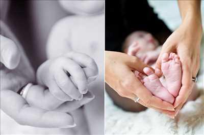 photo prise par le photographe Julie à Annecy : shooting pour une naissance