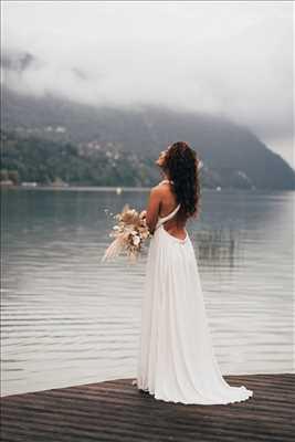 Shooting photo effectué par le photographe Hugo à Aix-les-bains : photo de mariage