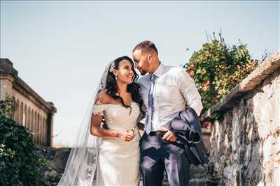 photo numérisée par le photographe Hugo à Aix-les-bains : photo de mariage