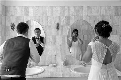 photo numérisée par le photographe Knecht  à Rennes : photographie de mariage