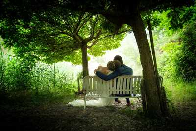 Exemple de shooting photo par dominique à Montelimar : photo de mariage