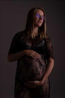 photo prise par le photographe SEVERINE à Dijon : photo de grossesse