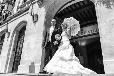 photo numérisée par le photographe Emmanuel à Lyon : shooting mariage