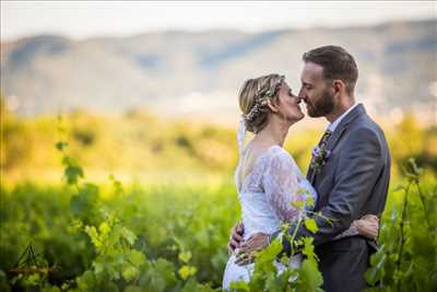 Shooting photo réalisé par Alexandre intervenant à Aix-en-provence : photo de mariage