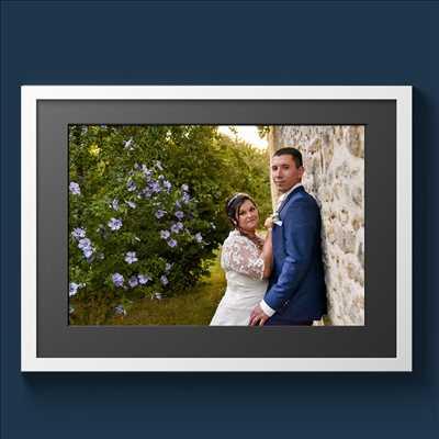Shooting photo effectué par le photographe Michel à Biard : photographie de mariage