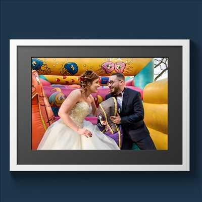 Exemple de shooting photo par Michel à Biard : shooting mariage