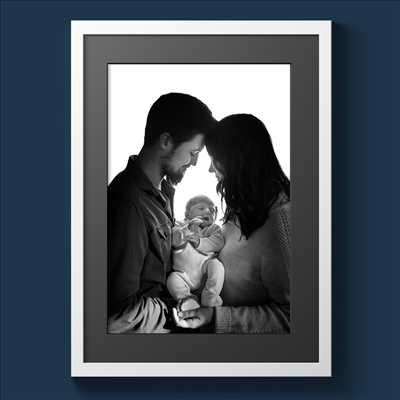 Shooting photo réalisé par Michel intervenant à Poitiers : photographie de nouveau né