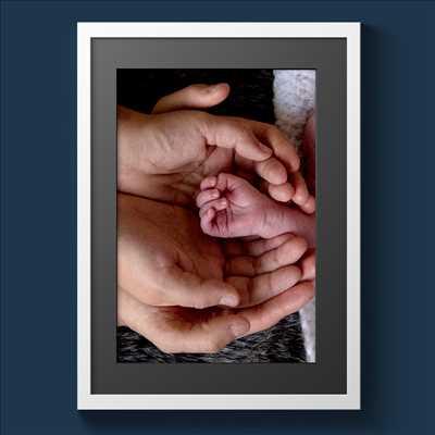 cliché proposé par Michel à Poitiers : photo de naissance