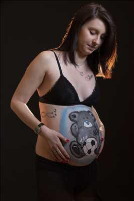 photo numérisée par le photographe Sébastien à Belfort : shooting photo spécial grossesse à Belfort