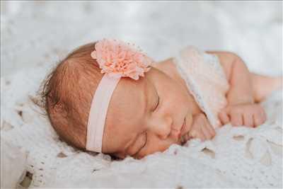 photo prise par le photographe Rebecca Luxea à Miramas : photo de naissance