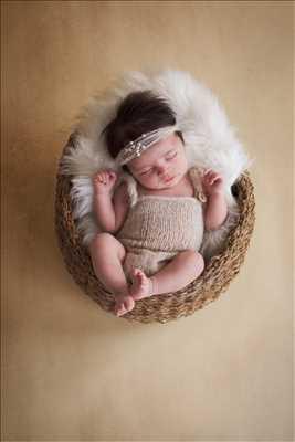 photo numérisée par le photographe Mélanie à Martigues : photographie de nouveau né