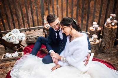 photo numérisée par le photographe Céline à Toulouse : photographie de mariage