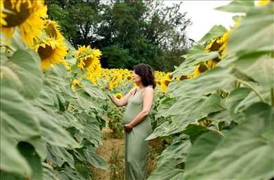 cliché proposé par Céline à Toulouse : shooting grossesse